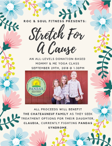 stretch for a cause