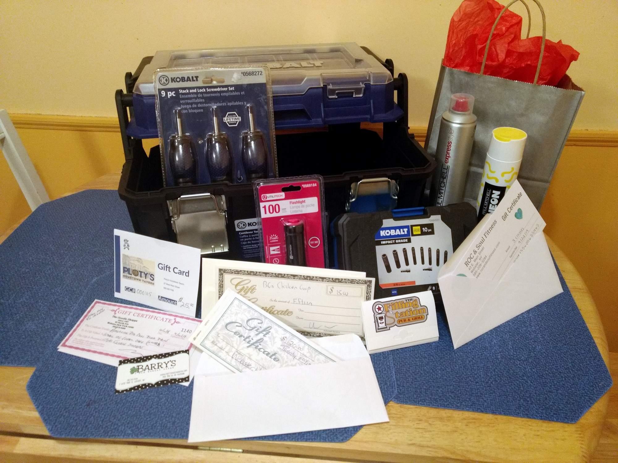 blood drive prizes