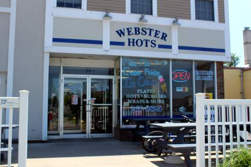 webster hots front