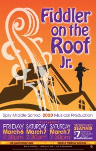 SMS Fiddler on the Roof Poster V4