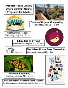 Adult Summer Online Programs 2020